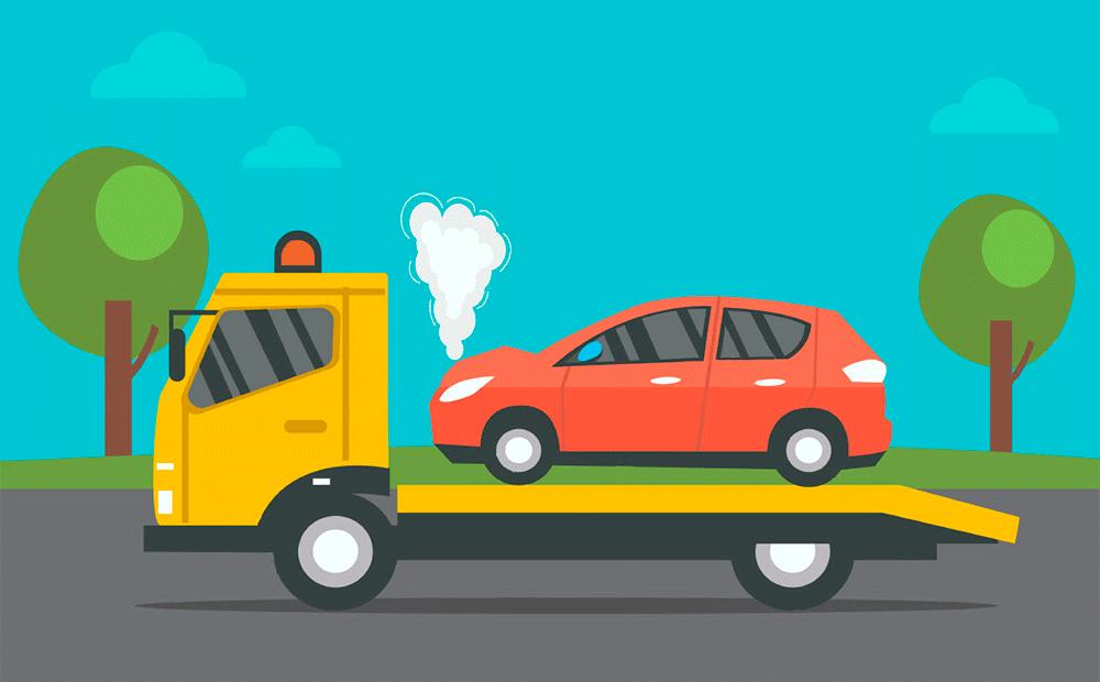 эвакуатор стоимость в км